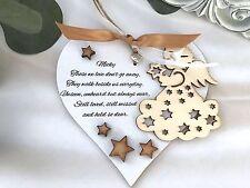 Personalised Bereavement Heart Keepsake Gift Sympathy P20