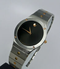 Mens Unisex Swiss Authentic Movado Imperial SE Sports Edition Two 2 Tone Watch