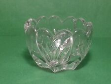 "High Quality crystal vase 4"" diameter 4"" tall"