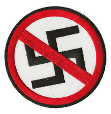 Ecusson patche antifa no nazi anti nazi badge transfert patch thermocollant
