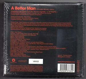 """JOHNNY HALLYDAY COFFRET BORN ROCKER INCLUS SINGLE """"A BETTER MAN"""" LIMITÉ NUMÉROTÉ"""