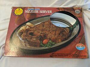 Vintage Nordic Ware Servo King Sizzler Server Family Size Platter
