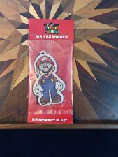 Super Mario Air Freshner Nintendo Strawberry Blast Scent BRAND NEW