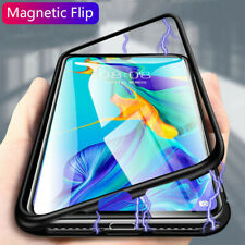 Case For Huawei Mate 20 Pro P30 Pro P20 Magnetic Edge Glass Back Phone Cover