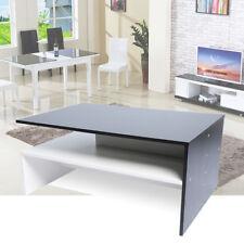 Coffee Tea Table Wooden Modern Furniture Range Shelf Living Room Clearance Sale