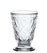 LA ROCHERE Footed Tumbler 113x80mm 18cl  Thick Glass - Pack of 6