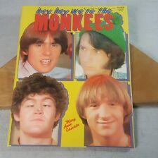 Hey, Hey We're the Monkees A Star Signet Special Magazine Sharon Starbook 1987