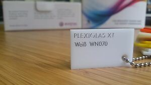 Acrylglas XT weiß ca.30% Licht Zuschnitt Plexiglas® Deglas® - 40 Jahre Erfahrung