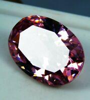 14.85 ct Natural Precious Oval Cut Cambodian Pink Zircon Loose Gemstone