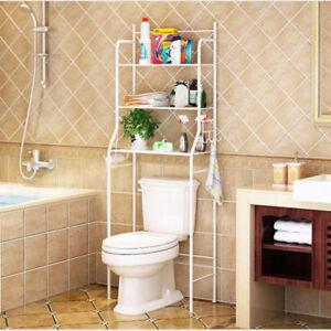 Toilettenregal Waschmaschinenregal Badregal WC Standregal Bad Regal Lagerstand