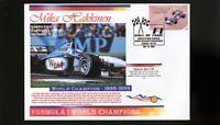 98-99 MIKA HAKKINEN F1 WORLD CHAMPION COVER, McLAREN 2