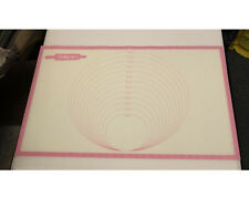 Silicone Baking Pastry Mat - Pink Silicon Bakeware Kitchen Worldwide Free S/H