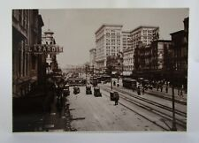 Postcard New Orleans, LA Canal St and the Second Maison Blanche Dept Store 1910