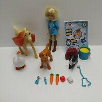 Dreamworks Spirit Abigail Vet Set 13 cm Doll & 4 Animals (No Retail Packaging)