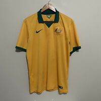 Australia Socceroos Nike 2014-2016 Football Soccer Jersey Shirt Mens Large