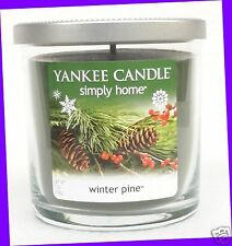 1 Jar Yankee Candle WINTER PINE 7 oz Candle Tumbler Jar