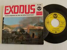 "EXODUS, B.O. film PREMINGER / ERNEST GOLD 7"" EP 1961 French pressing RCA 75.646"