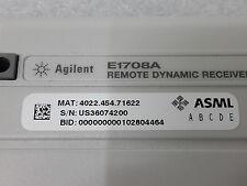 Agilent E1708A REMOTE DYNAMIC RECEIVER ASML MAT 4022.454.71622