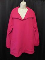 Soft Surroundings Pink Tunic Top Boxy 100% Cotton Knit Size L