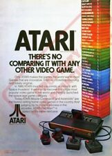 ATARI Wall Poster (24 x 36 inch) Vintage Retro Promo Video Game 006