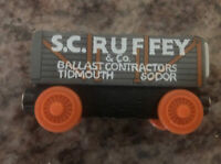 "Thomas The Train & Friends ""S.C. Ruffey""Wooden Train Magnetic Learning Curve"