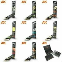 AK Interactive Weathering Model Making Effects Pencils choose from range of sets