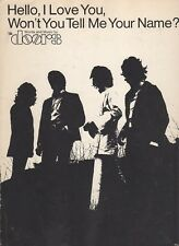 The Doors Hello I Love You Won't You Tell Me Your Name US Sheet Music