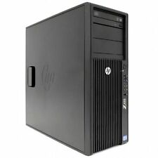 HP WORKSTATION Z420 INTEL XEON SIX E5-2620 SSD 128GB+500GB K2000 RAM 64GB W7 PRO
