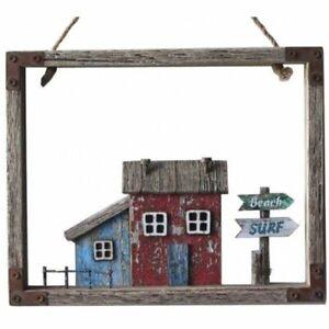 Rustic effect Seaside Cottage in Frame