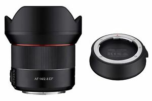 Rokinon 14mm F2.8 AF Weather Sealed Wide Angle Lens with Lens Station (Canon EF)