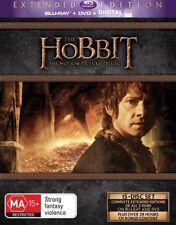 Hobbit Trilogy (Blu-ray, 2015, 15-Disc Set)