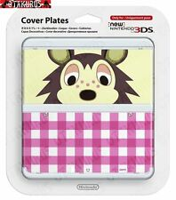 #16 Sable Animal Crossing Cover Plate New Nintendo 3DS Official Item Japan