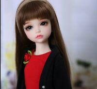 """New 1/4 Handmade Resin BJD MSD Lifelike Doll Joint Dolls Girl Gift Lonnie 14"""""""
