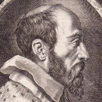 Portrait XVIIe Henri Dupuy Erycius Puteanus De Putte Philolosophie Sémiologie