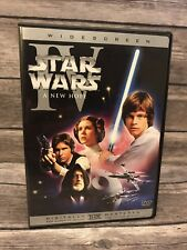 Star Wars A New Hope Remastered Dvds For Sale Ebay