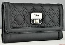 NWT SLG wallet GUESS daysha Nero Nuovo Donna