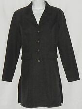 Breakin Loose Junior's Long Blazer Sz 3/4 Vintage Old School Charcoal Gray