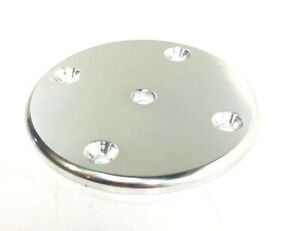 Taco Marine 4'' Diameter x 1/4'' Round Pad Leaning Post / T-Top F32-4440BXY