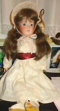 """23"""" 390 DRGM Made In Germany 374830/374831 A.G.M Bisque Doll"""