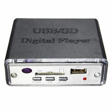 KINTER USB/SD Digital PlayerMP3 12V Mini Car&Motorcycle Stereo Remote READER LED