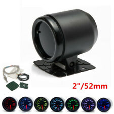 "2"" (52mm) Car Exhaust Gas Temp Gauge 7 Color LED EGT Meter With Sensor & Holder"