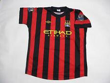 Manchester City 2012-2013 Away Champions Kit Football Jersey Shirt #12