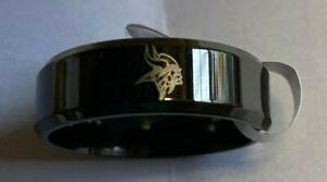 Minnesota Vikings Football Team Titanium Ring, style #2