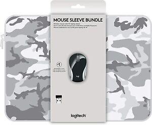 "Logitech Wireless Mini Mouse M187 & 14"" Sleeve Bundle NEW"