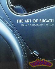 ART OF BUGATTI BOOK ETTORE ATLANTIC CARS 57 EB110 35 37 ADATTO
