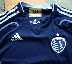 Sporting Kansas City jersey shirt soccer 2014 MLS season adizero