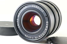 [Rare! Mint] Leica SUMMICRON-R 35mm f/2 E55 Lens 3-CAM Germany From JAPAN R4833