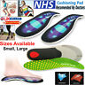 Orthotic pro Insoles Arch Support Heel Cushion Plantar Fasciitis Orthopedic UK