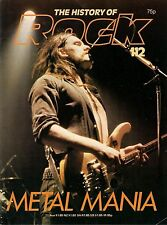 HISTORY OF ROCK # 112<>METAL MANIA<>Motorhead / Iron Maiden / Rush / AC-DC  ~