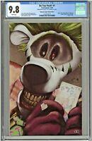 Do You Pooh #1 CGC 9.8 Unknown Comics Metal Edition YOTV Joker Homage LTD to 30